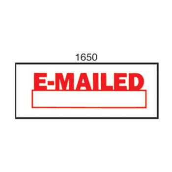 Xstamper Stamp Emailed 1650 Red