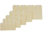 Esselte Shipping Tags No6 67x134mm Buff 1000